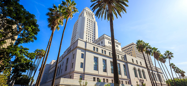 Photo of Los Angeles City Hall