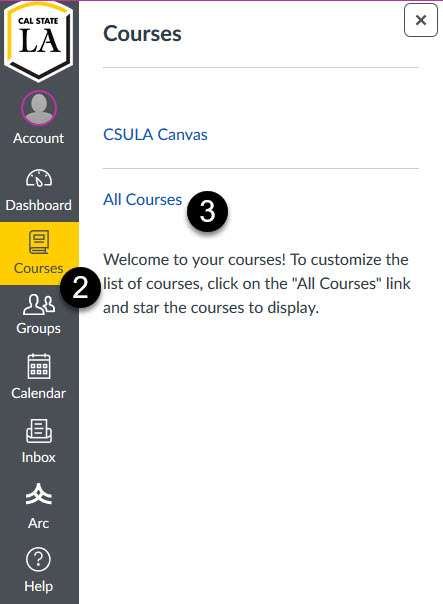 link to all courses