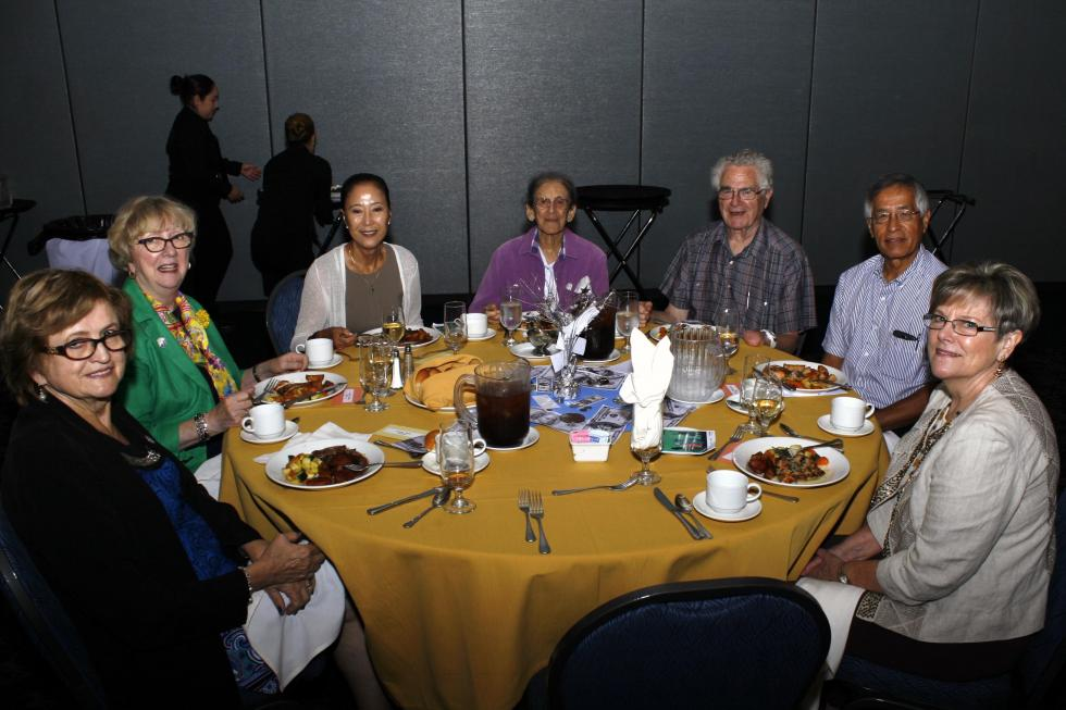 Guests at Fall 2015 Luncheon