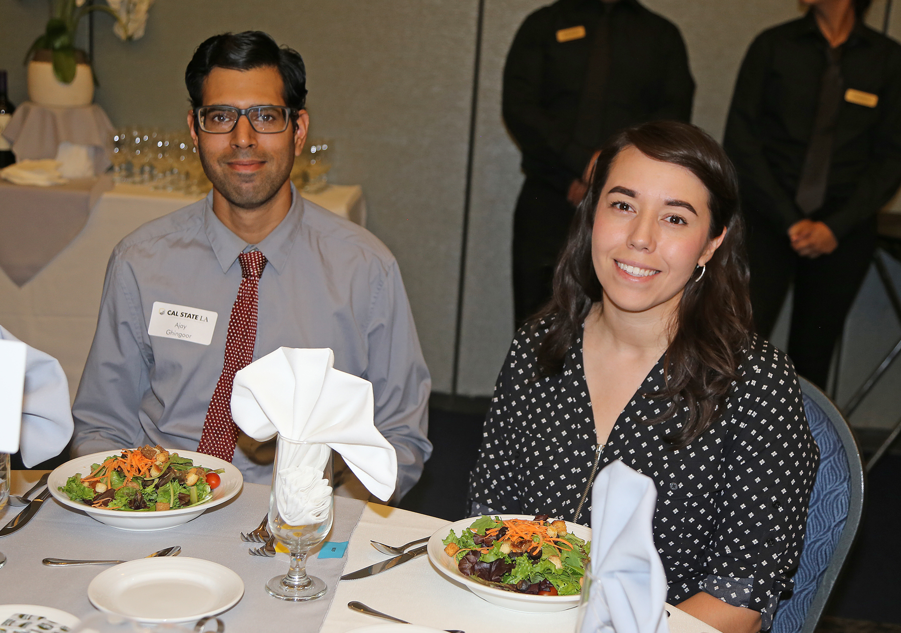 students at fall luncheon