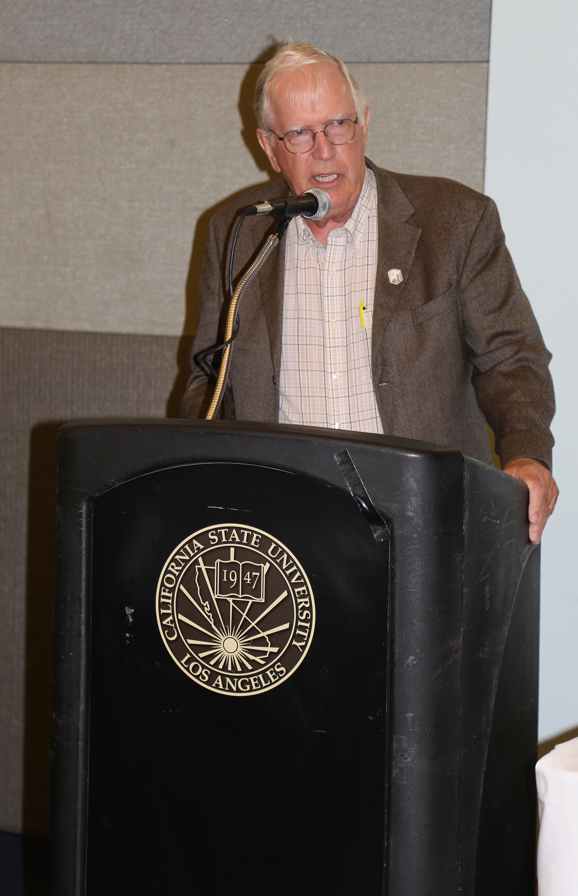 Speaker at fall luncheon