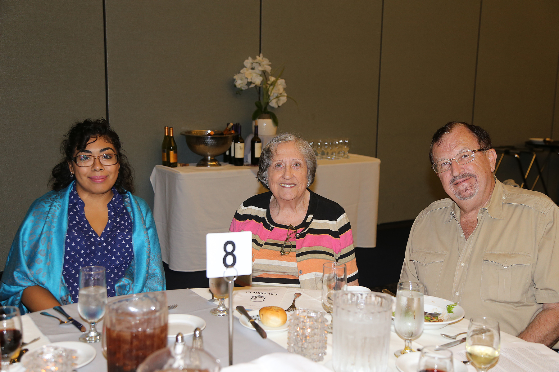 Guests Attending fall luncheon