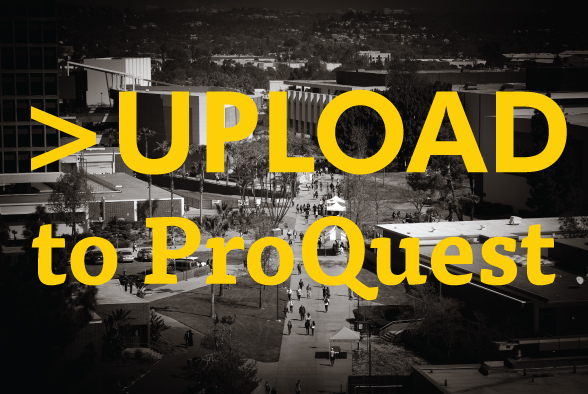 Upload to ProQuest