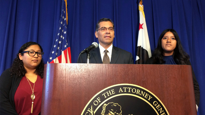 CA Attorney General asks judge to reinstate DACA program until final court ruling