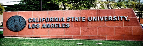 California State University Los Angeles Campus Sign