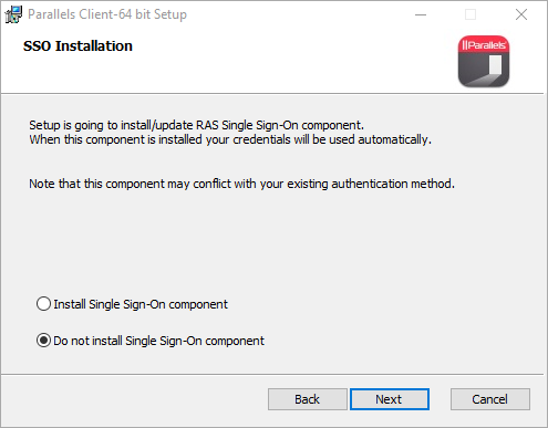 SSO Installation Question