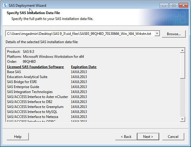 How-To Install SAS 9 3 on Windows 7 | Cal State LA