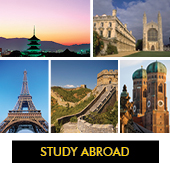 Outbound Students-Photo collage of travel study destinations