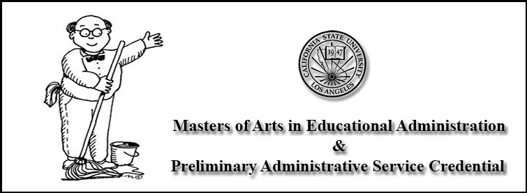 M.A. in Educational Administration & Preliminary Administrative Service Credential