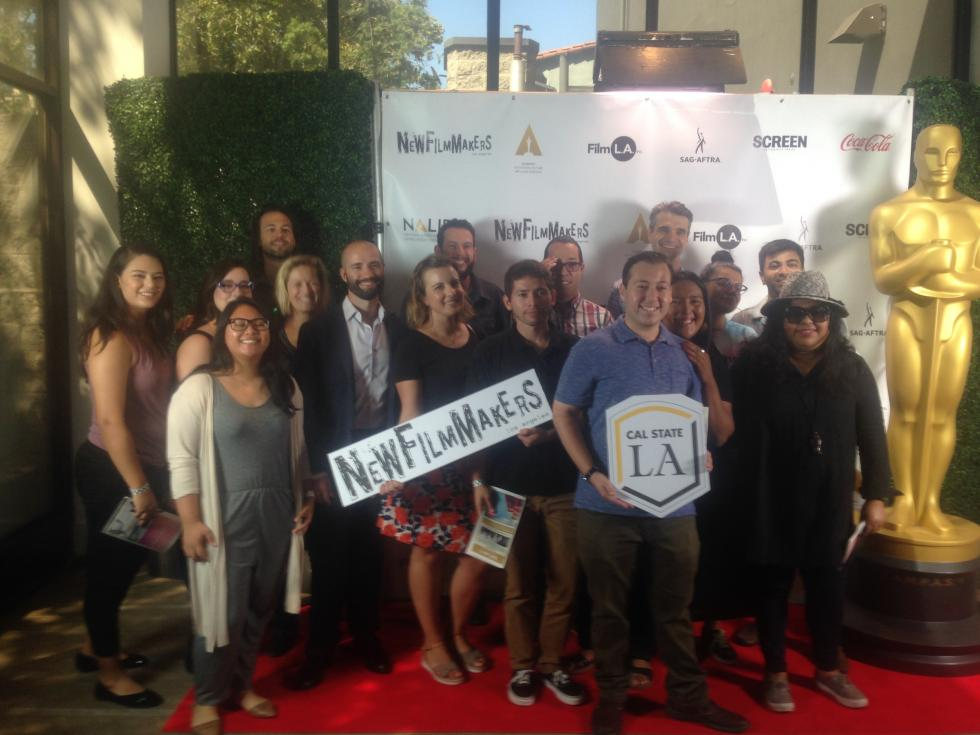 Faculty and Students at the 2018 New Filmmakers LA Latinx Film Festival