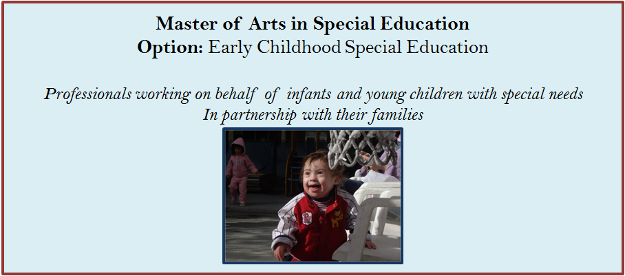 early childhood special education roots 2 essay Our professional roots – 2 current research – 3 a special thanks for the incredible the importance of high-quality early childhood education to later.