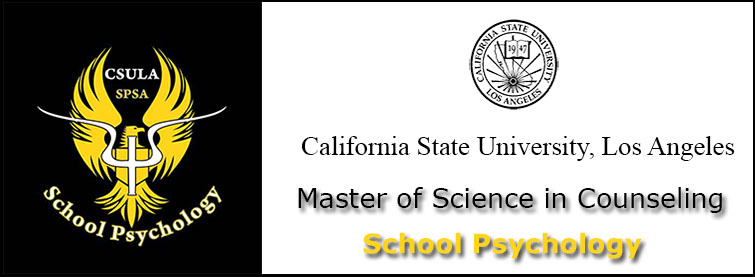 Master of Science Degree in Counseling Option in School Psychology