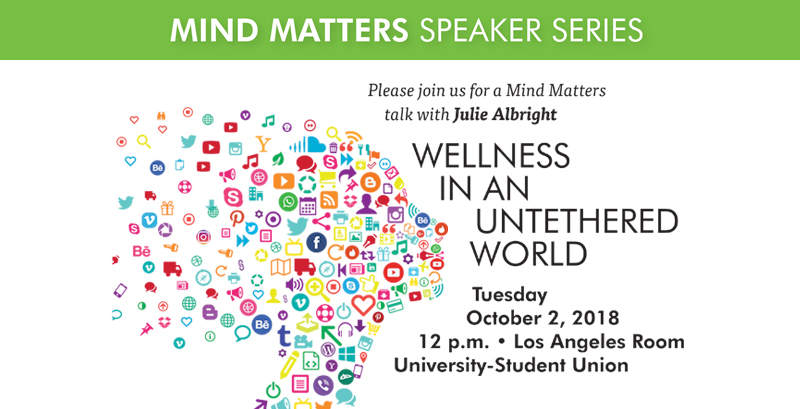 Mind Matters talk with Julie Albright