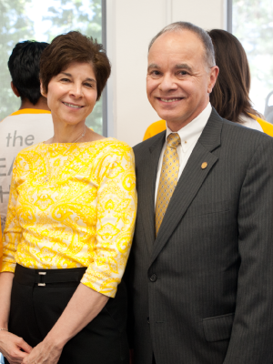 President Covina and First Lady