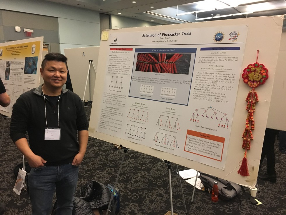 Ilnam Jeong (Pre-trainee) – Outstanding presentation in Physical and Mathematical Science group