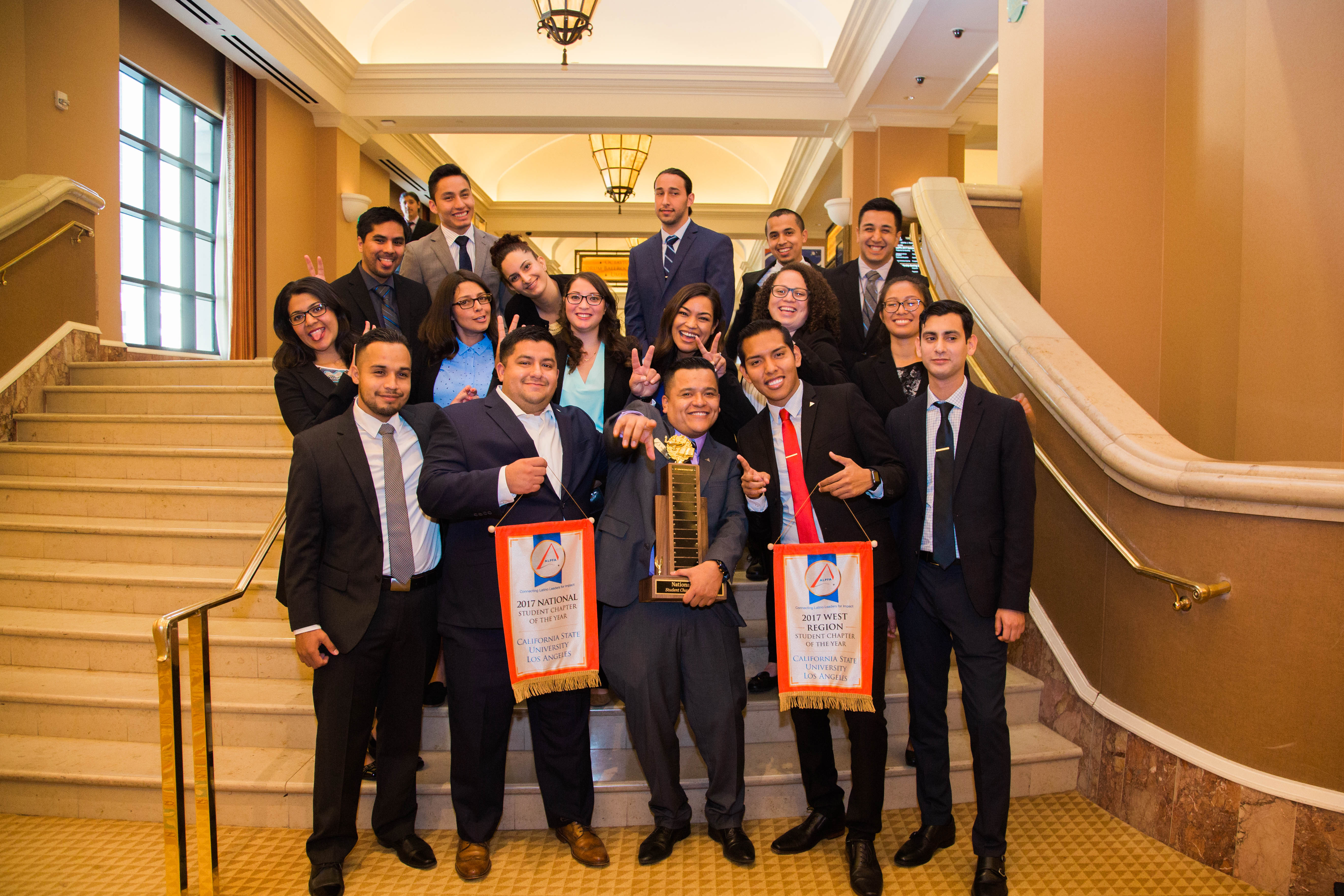 Cal State LA's ALPFA Chapter Earns the 2017 National Student Chapter Award