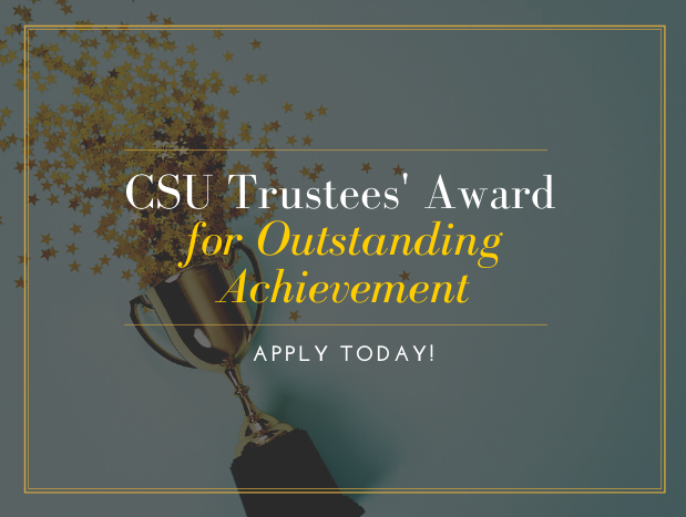 Csu Academic Calendar Spring 2022.Apply Now For The 2021 Csu Trustees Award For Outstanding Achievement Cal State La