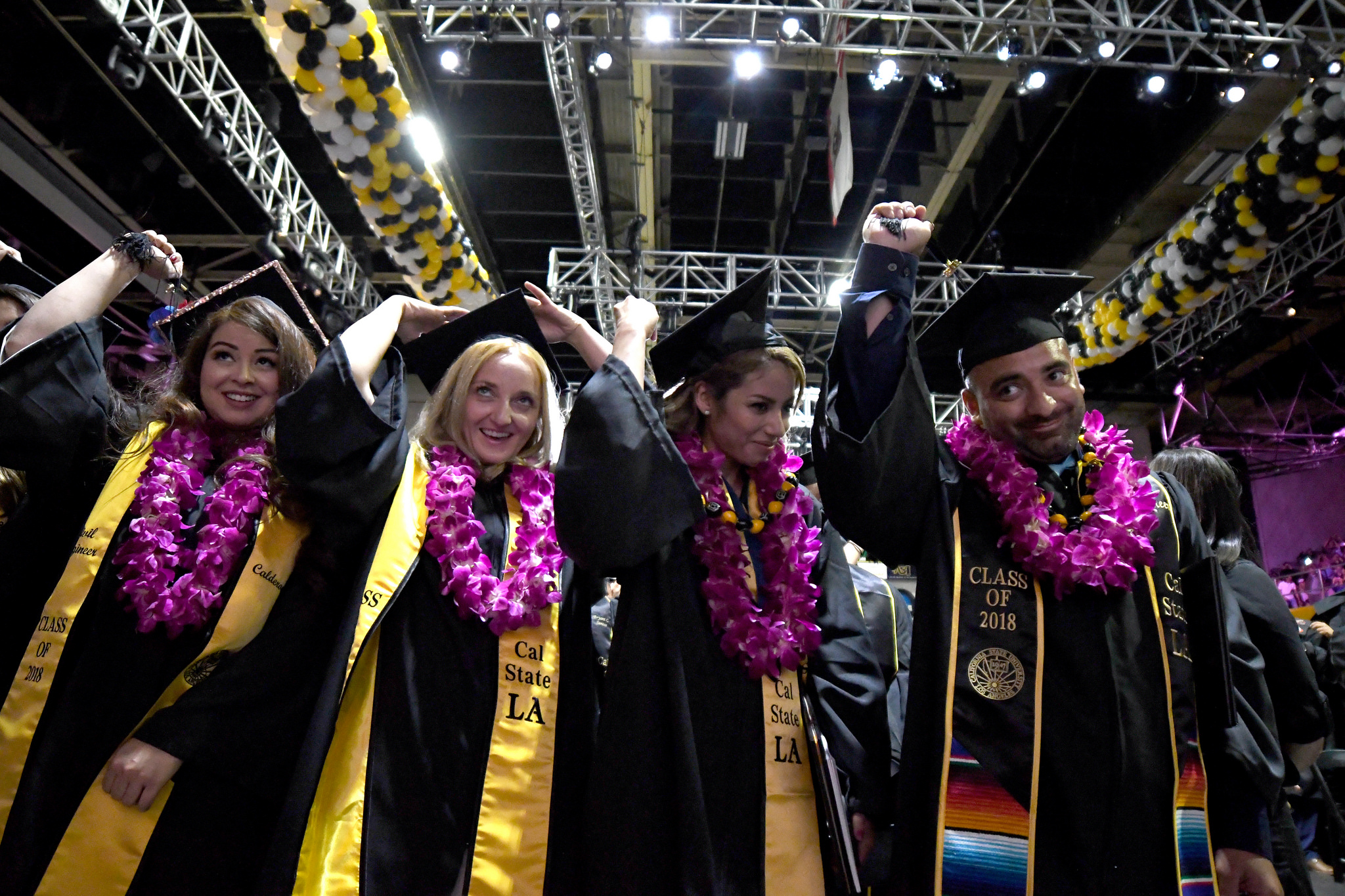 Graduates turn their tassels at Commencement