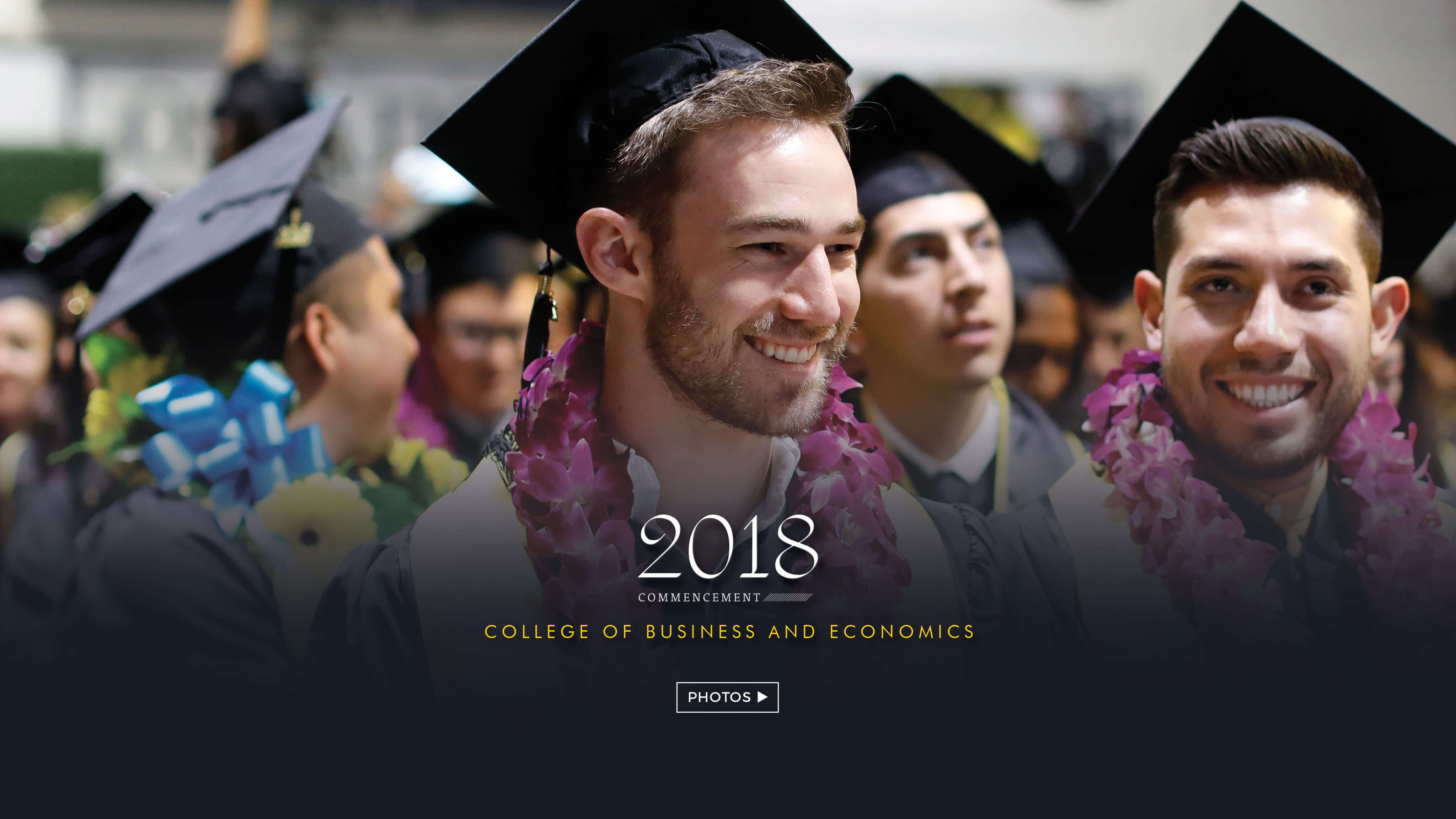 College of Business and Economics photo album