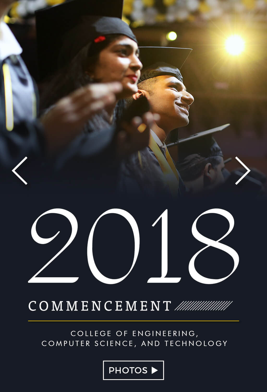 College of Engineering, Computer Science, and Technology Graduates