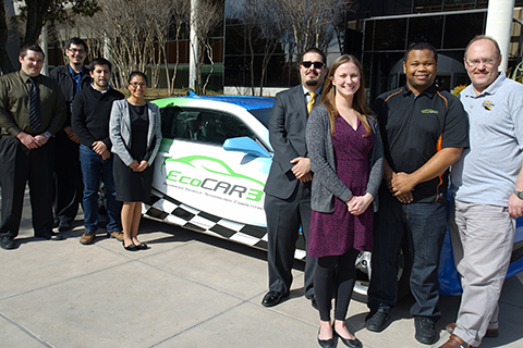 EcoCAR3 and team