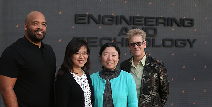 ECST Dean and NSF faculty team.