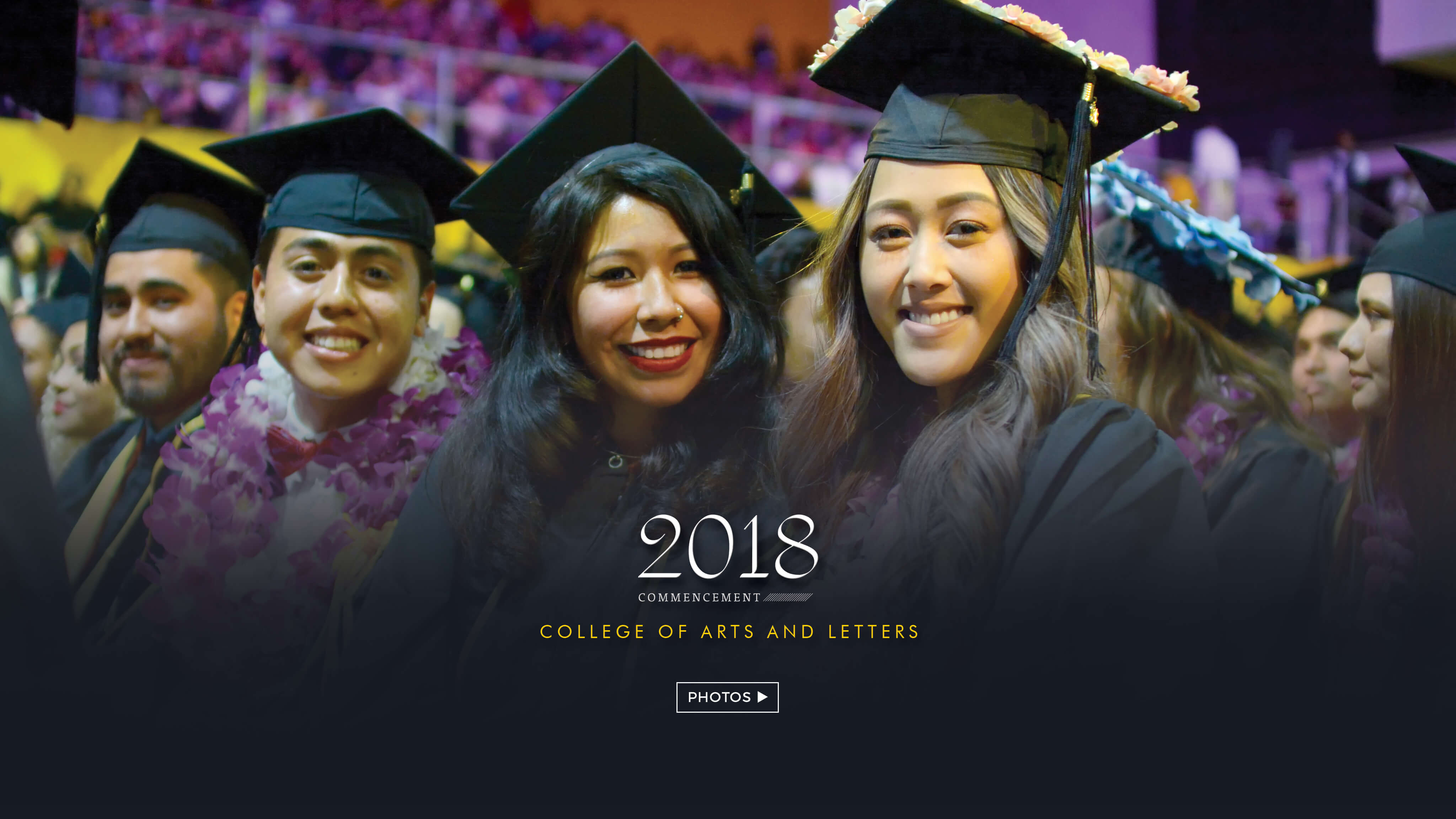 College of Arts and Letters photo album