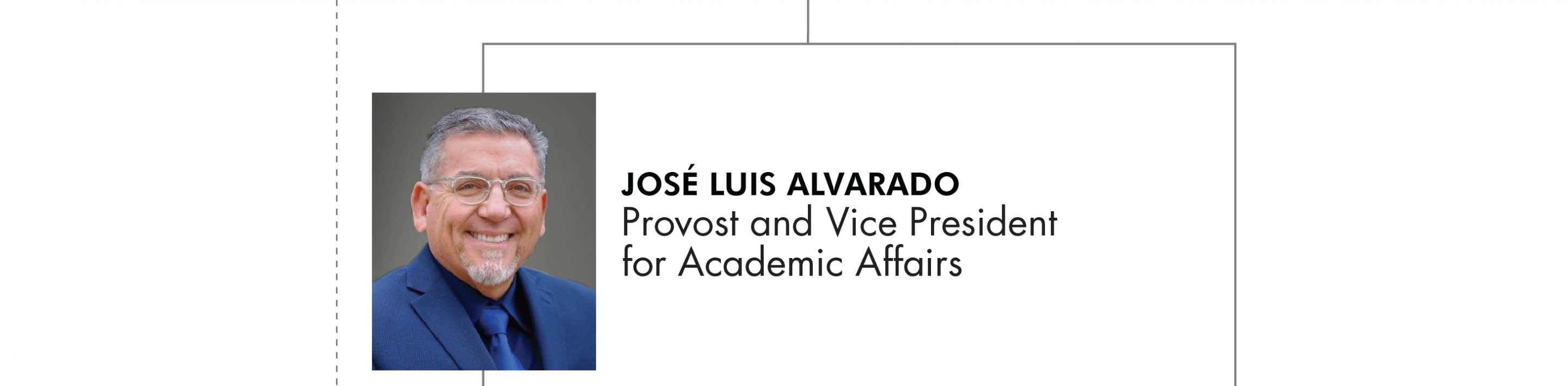 Jose Luis Alvarado Provost and Vice President for Academic Affairs