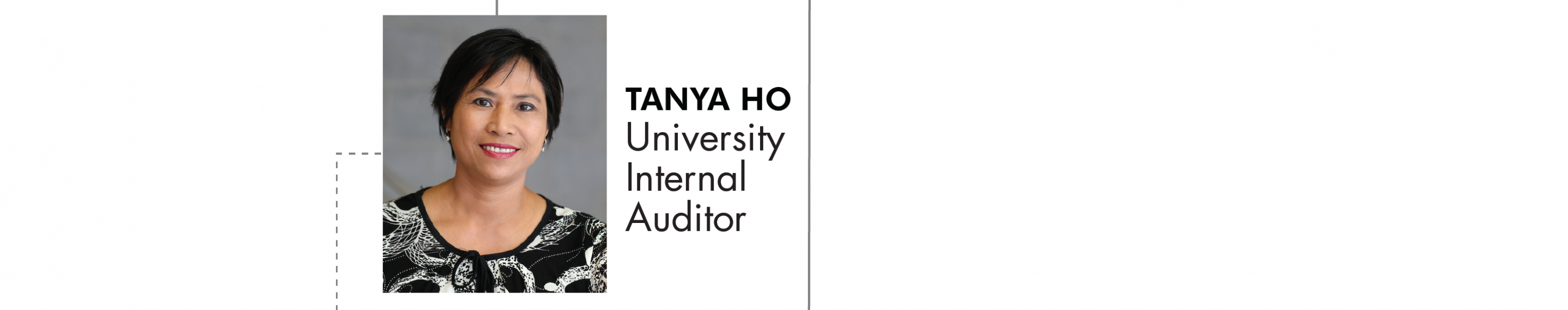 Tanya Ho University Internal Auditor