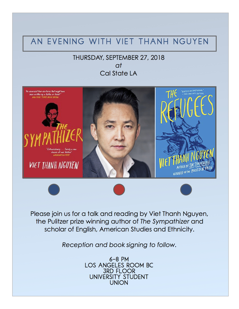 An evening with Viet Thanh Nguyen