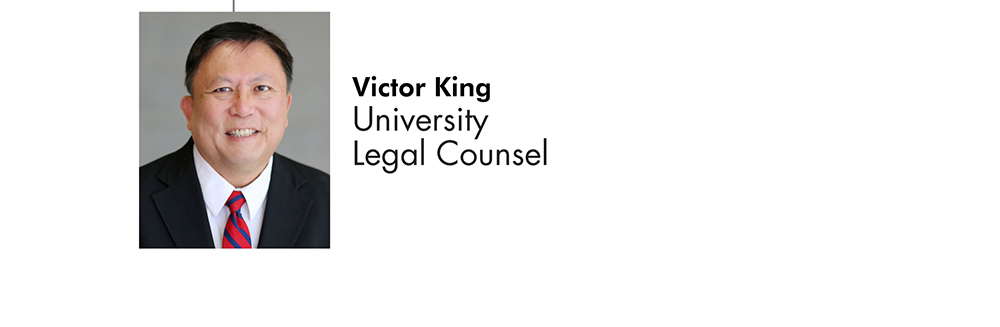 Victor King University Legal Council