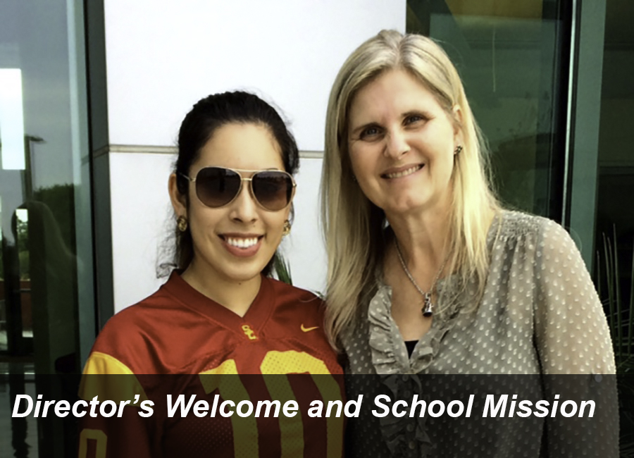 Link to the Director's Welcome and  School Mission