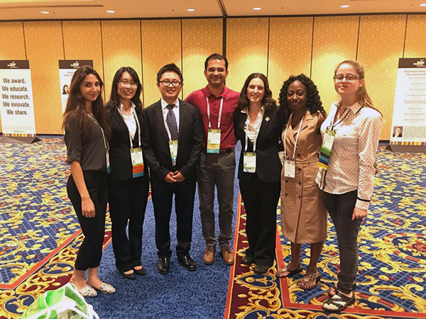 Food Science and Technology student, Jamin Masri, attended the Institute of Food Technologists annual meeting in Las Vegas last June.