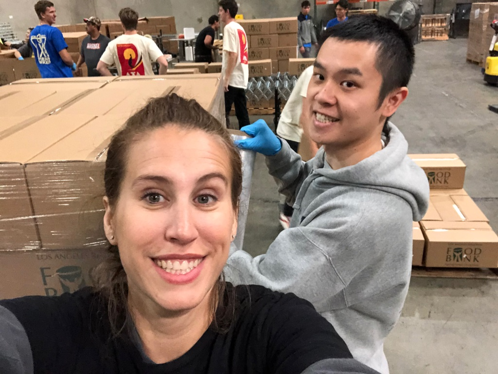 Volunteering at the LA Regional Food Bank Photo 3