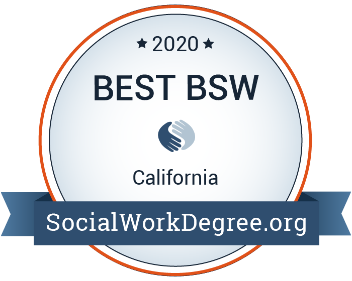 Badge for Best Social Work Degrees-BSW 2020