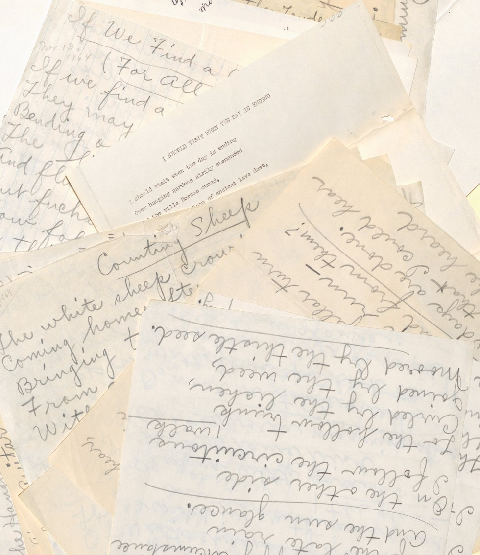 Sampling of poems from the Edna Anderson collection