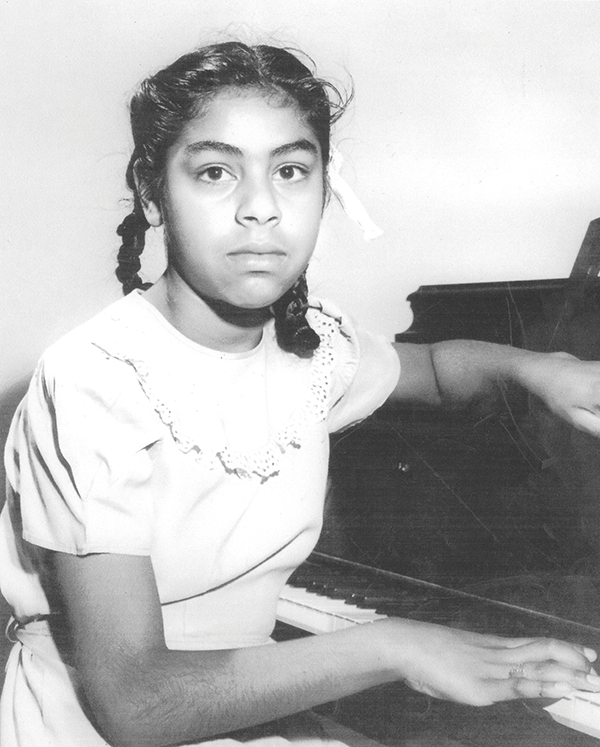 As a child Sylvia Mendez integrated an elementary school in Orange County. (Photo courtesy Sylvia Mendez)