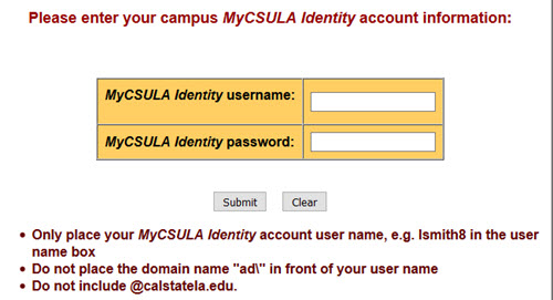 Off Campus Library Database Access | Cal State LA