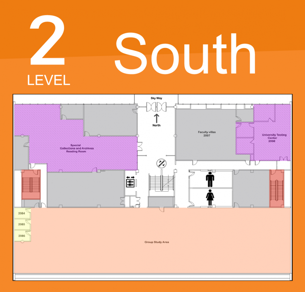 Level 2 South Map