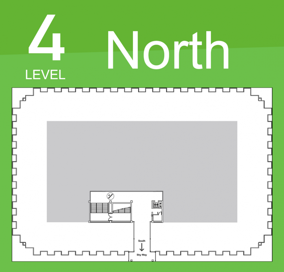 Level 4 North Map