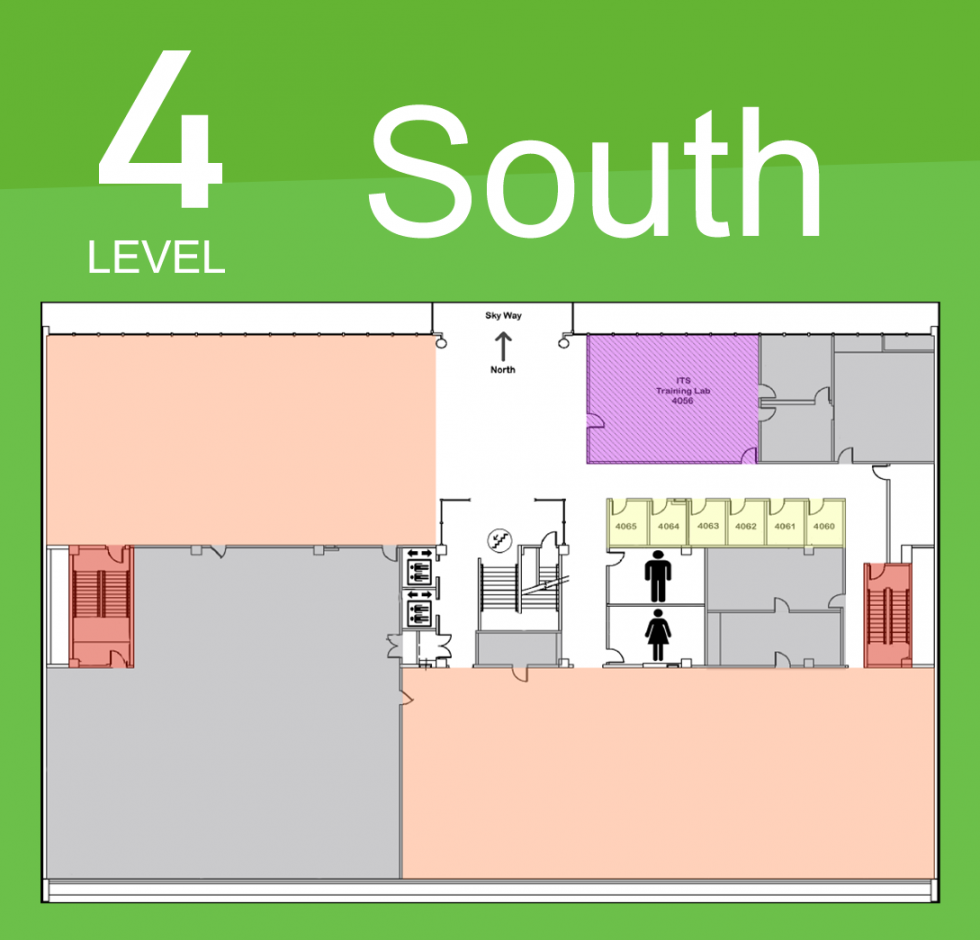 Level 4 South Map