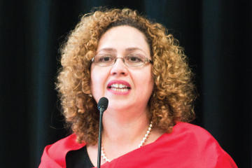 professor guzman speaking