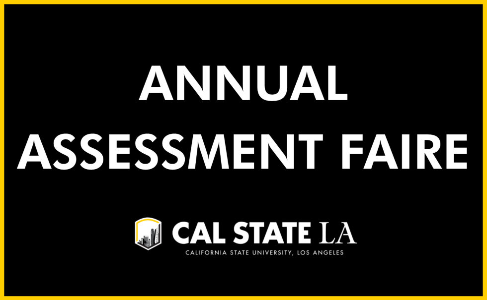 Annual Assessment Faire