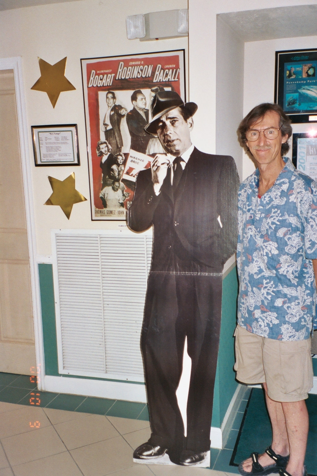 Me and Bogie at Key Largo
