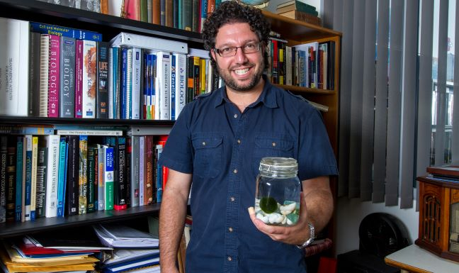 Dr. Paul Narguizian in His Office