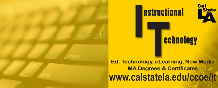 Instructional Technology Program, two MA programs and certificates