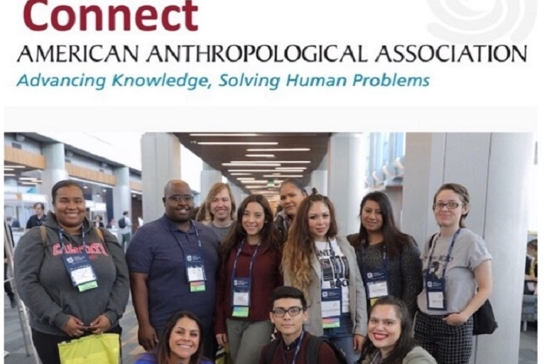 Students featured on the website of the American Anthropological Association.