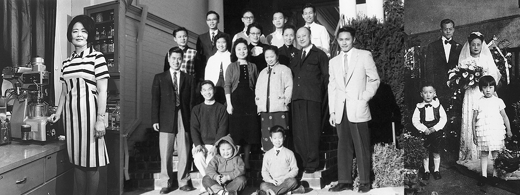 Chinese American Oral Histroy Project - Photo Collage
