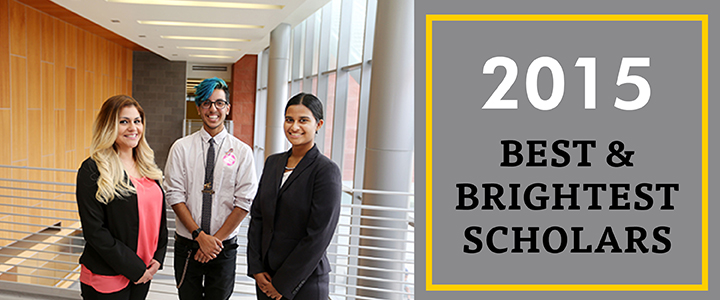 2015 Best & Brightest Scholars
