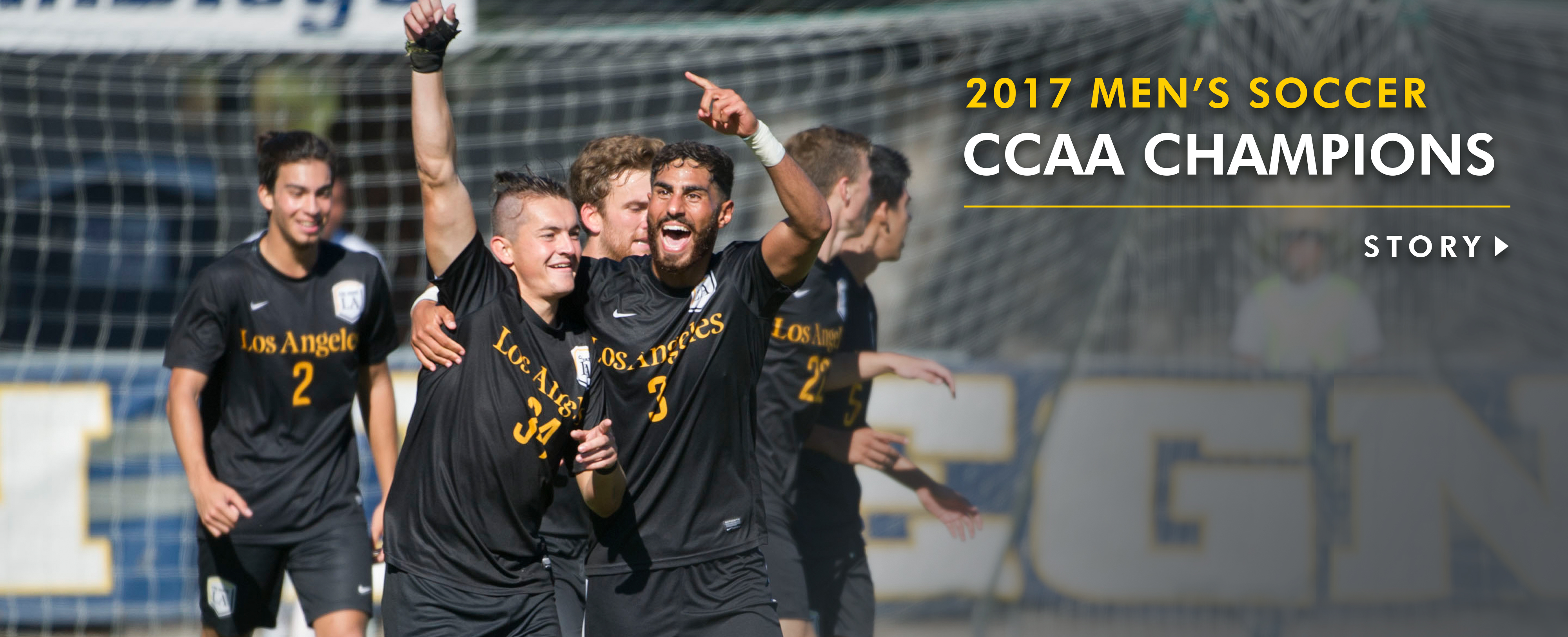 Golden Eagles CCAA soccer champs